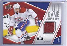 2011-12 UPPER DECK LARS ELLER UD GAME JERSEY CANADIANS