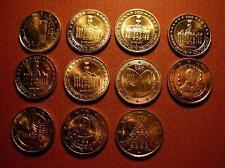 2 euro pièce commémorative 2009 neuve LUXEMBOURG, PORTUGAL, FINLAND , ALLEMAGNE