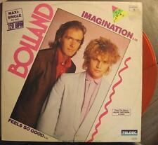 "BOLLAND ""IMAGINATION"" - 12"" MAXI SINGLE - ORANGE VINYL"