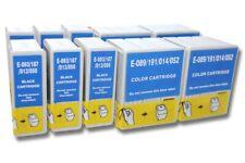 10St. original vhbw® Drucker Patronen für EPSON  STYLUS COLOR 600