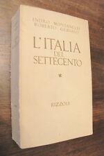 L'ITALIA DEL SETTECENTO  indro montanelli gervaso 1971