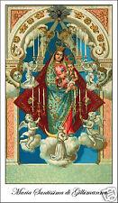 ADESIVO STICKER SANTINO HOLY CARD MARIA SANTISSIMA DI GILBIMANNA