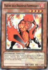 3x Maestro delle Dragospade Fiammeggianti YU-GI-OH! GENF Ita COMMON