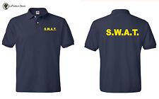 S.W.A.T. SWAT Police TEAM Polo T-Shirt MMA S-5XL