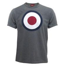 Merc London Gris Años 60 70 Mod Retro Tique Camiseta con Diana Estampado S -XXL