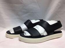 Vince Eres Platform Sandal 6 M Black Rubber New with Box