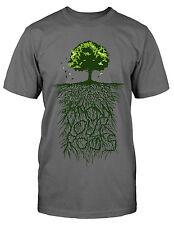 Lebensbaum T-Shirt Magie Tree of Life Fun Yggdrasil Natur Wildnis Stammbaum Kult