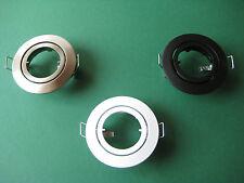 Decken Einbau strahler LED Halogen Stahler schwenkbar RUTEC 5537  Farbwahl  NEU