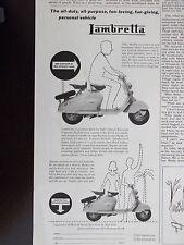 1955 Lambretta Motor Scooter Advertisement