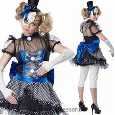 CA34 Twisted Baby Broken Doll Halloween Womens Creepy Horror Rag Doll Costume