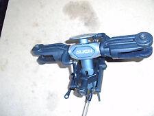 TREX 600 rotorhead assieme grigio lega di testa con plastica BLADE GRIP e SEESAW