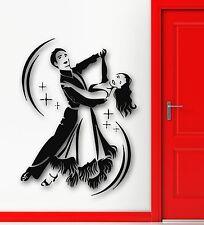 Wall Stickers Vinyl Decal Dance Waltz Wedding Celebration Passion (ig538)