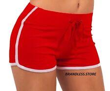 Women Girls Jersey Hot Pants Running Sporty Shorts Gym Beach Sports Yoga Workout