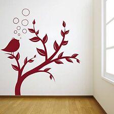 Wall Sticker Bird Tree Design Decal Vinyl New Art Sticker Home Décor