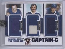 2013-14 Captain-C 14-15 ITG Vault CC-01 Bob Davidson Dave Keon Dion Phaneuf Card