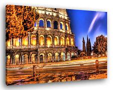 Quadro Moderno ROMA COLOSSEO 2 Vari Formati Città Arredamento Stampa su Tela