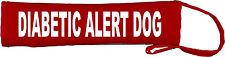 Diabetic Alert Dog Lead Slip Cover Red Yellow Green Blue Purple Blue Orange 545