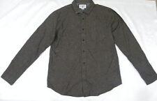 Billabong Men The Coastline Flannel Shirt Sz Large Long Sleeve M508ECOA