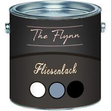 The Flynn hochwertiger 2k Fliesenlack glänzend 2-K Fliesenfarbe weiß Bad Boden