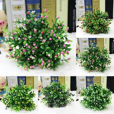 EB_ 15 Heads Artificial Aglaia Odorata Flowers Plant Home Wedding Party Decor Ea