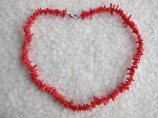 Gema Coral Rojo o salmón-sucursal de Piedra Collar.