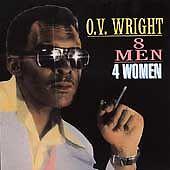 O.V. Wright : 8 Men 4 Women  CD NEW/SEALED