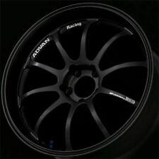 "ADVAN RS-D DEEP DISH MATT BLACK BMW E46 E90 E92 M3 ALLOYS 19"" SPLIT SET Z1369/70"