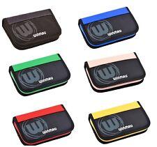 Winmau Urban Pro Freccette Custodia/Portafoglio-nera-Large-contiene 2 Set di freccette