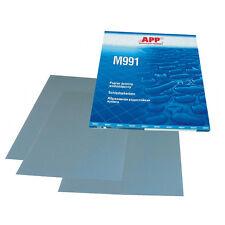 APP 5000er 230x280mm Nass-Schleifbögen-Schleifpapier 991A5000