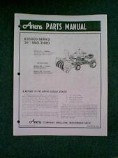 "ARIENS TRACTOR 36"" SNOWBLOWER ATTACHMENT MODEL # 835003 PARTS MANUAL"