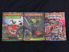 Warhammer Fantasy paquetes de campaña de batalla, conjuntos de caja, anuncio de varios