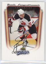 2005-06 Upper Deck MVP #239 Jamie Langenbrunner New Jersey Devils Hockey Card