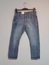 """CROSS Damen Jeans """"M-452-006""""  Boyfriend  W26-W30  L30 blau  NEU mit Etikett"""