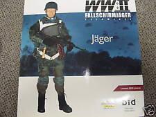 1/6 DID WWII GERMAN Fallschirmjager Feldwebel figure