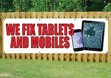 Abbiamo Fix Tablet e Cellulari Telefono Negozio Banner Outdoor segni PVC con occhielli