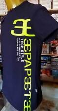 Jersey T-shirt homme Papeete manche courte col roulé imprimé logo art PAP2331