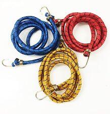 """72""""/6ft di alta qualità Corda elastica elastica BICI GANCIO CAMPEGGIO Bagagli Cinghia Bungie"""