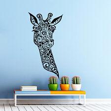 Wall Vinyl Decals Giraffe Animals Jungle Safari Decal Sticker Art Nursery NS389