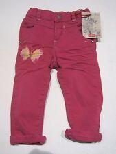 CHIPIE fille Color Jeans, pantalon rose taille 80/12 mon. NEUF - 60%