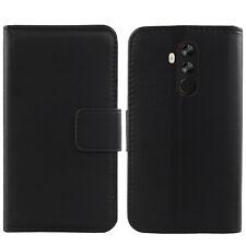 For Umidigi Z2 / Z2 Pro 6.2 inch Luxury Genuine Real Leather Flip Case Wallet