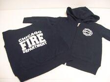 Chicago Fire Department Infant Zip Hoodie Navy