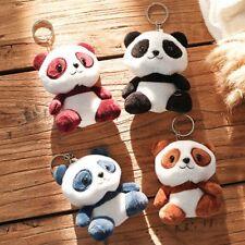 2019 High Quality Plush Pendant Panda (10cm) Key Ring Cuddly Toy Keychain Gift