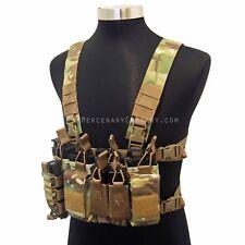 The Mercenary Company D3 223 Chest Rig MOLLE Vest - Spiritus Micro Fight Haley