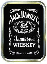 Jack Daniels 2oz Gold Tobacco Tin,Stash Can,Storage Tin,Sweet Box,