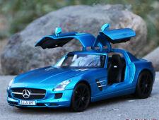 Maisto 1:18 Mercedes Benz SLS AMG Static Alloy Sports Car Model Boys Toys