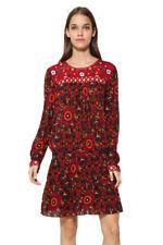 Desigual Red Boho Printed Rosi Dress 36-46 UK 8-18 RRP �94