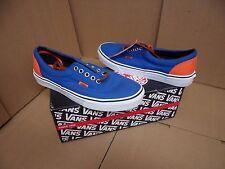 Vans Men's Era Blue / Orange Canvas Skateboarding Shoes VN-0VHQ9VI
