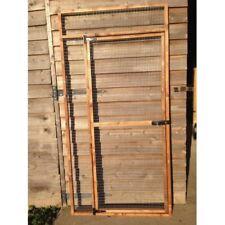 Individual aviary panels and doors 6ft x 3ft 19G pet run rabbit chicken puppy