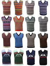 Hombre Mujer Jersey Suéter Camiseta de tirantes Sin Mangas Navidad