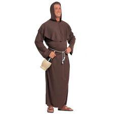 Mönch Kostüm Mönchskostüm Herren Mönchskutte Kapuzen Priester Gewand Robe
